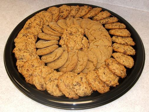 Cookie And Brownie Platter Brownie Combo (2 Doz Cookies