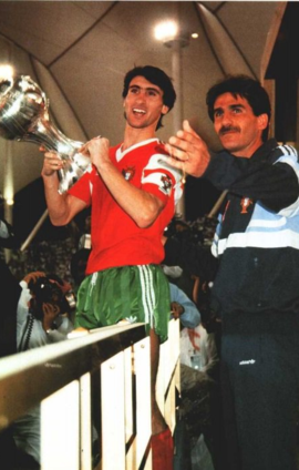 Carlos Queiroz and Toze