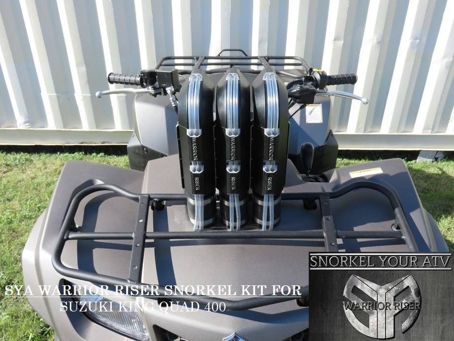 Suzuki ATV Snorkel kits