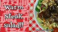 Warm Steak Salad Recipe, Noreen's Kitchen