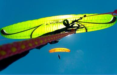 paragliding lessons and course
