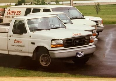 Coppes Termite and Pest Control Service just before the name change to Coppes Pest Mangement