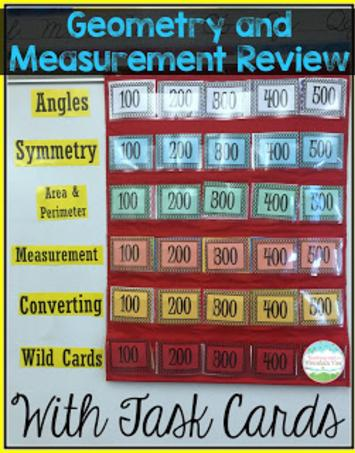 Geometry and Measurement with Task Cards