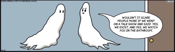 ghosts, spirits