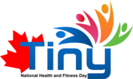 Tiny National Health and Fitness Day Logo