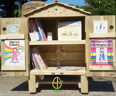 Books Outdoor Library