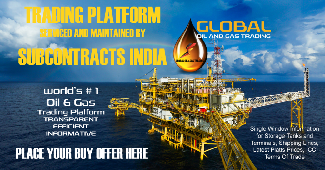 Oil and Gas Trading- Place Buy Offers Here: #Brent #WTI #oilandgas