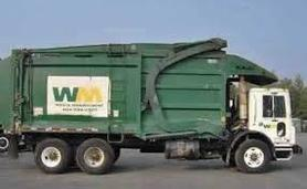 Pearland Garbage Truck