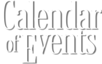 Click here for the calendar of events