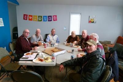Lunch with Squamish Men's Shed