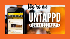 Follow us on Untappd!