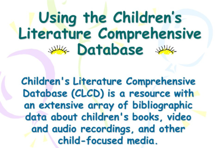 Children's Literature Comprehensive Database