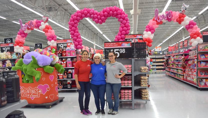 Walmart Balloon decor