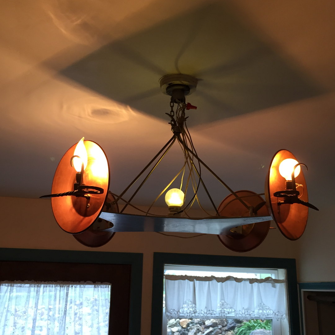 Chandeliers for years one of craigs hobbies has been creating custom western chandeliers through popular demand he is finally taking his works of art to the public arubaitofo Image collections