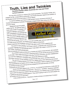 "PDF copy of article, ""Truth, Lies and Twinkies"