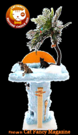 Pussy Cat Paradise Cat Condo wins Cat Fancy Editor's Choice