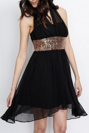 Halter Party Dress