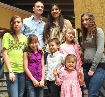 Martiny family missionaries in Guatemala