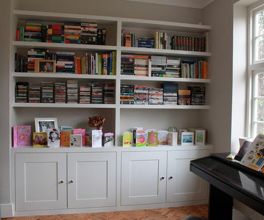 Best Custom Shelving and Bookcases Company| Lincoln Handyman Services