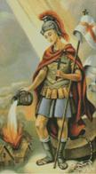 Cross Stitch Chart of Saint Florian the Patron Saint of Firefighters