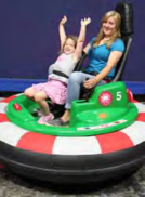 Bumper Car Seats for Younger Children