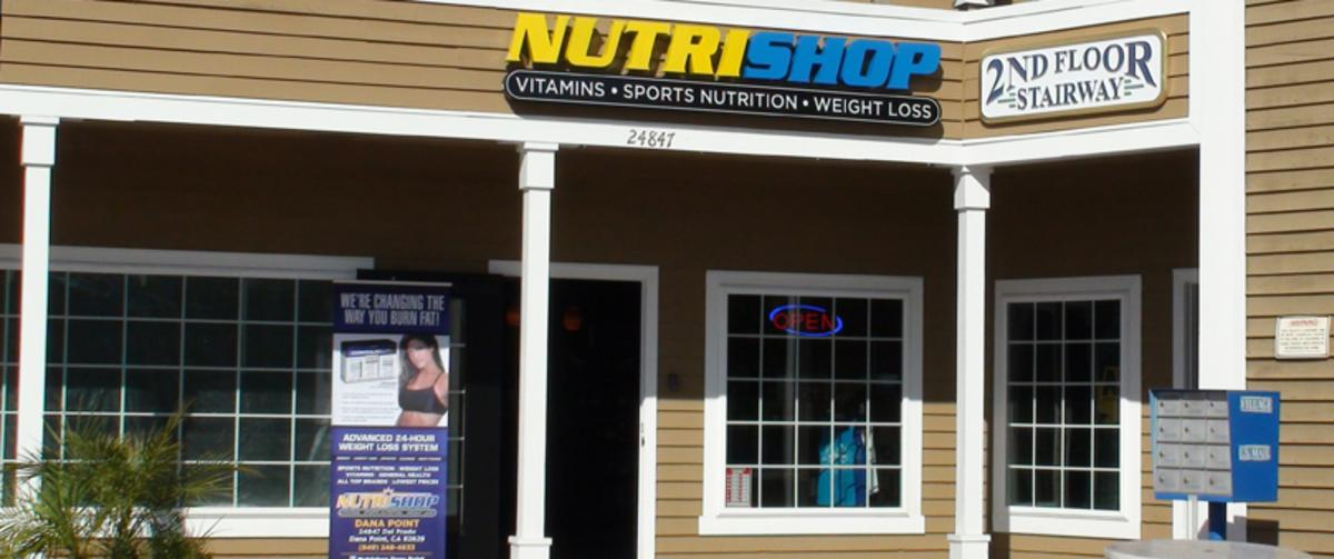Nutrishop Lantern Bay Village Shopping Center, Dana Point, CA