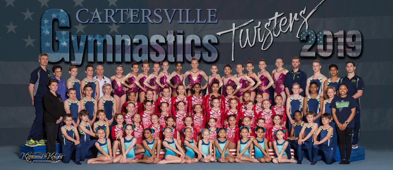 Cartersville Twisters 2017 Competition Team