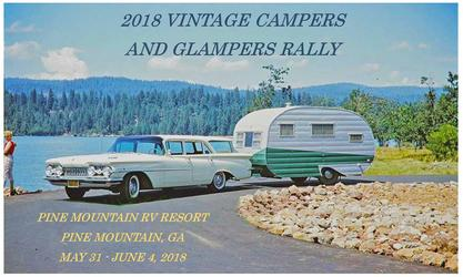 2018 Vintage Campers And Glampers Rally