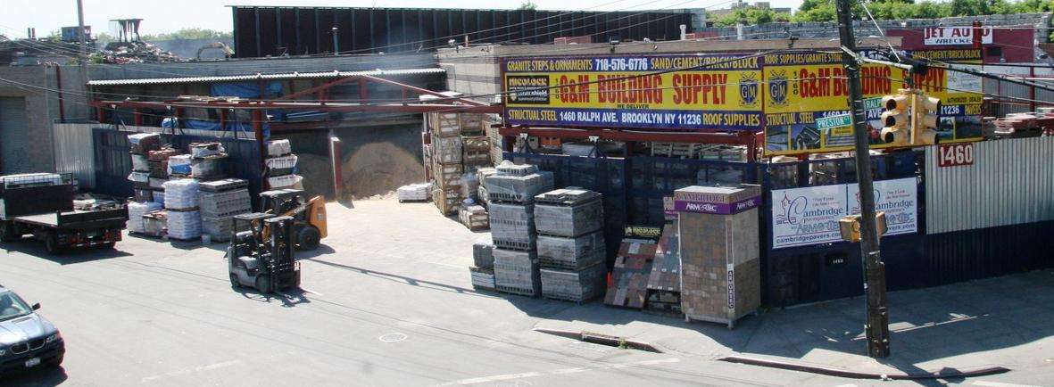 Masonry Supply In Brooklyn 1460g Amp M Building Supply
