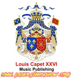 Louis Capet XXVI Laser Shows + Music Publishing - www.LaserLightShow.ORG