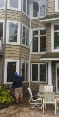 Window cleaning, pressure washing, gutter cleaning