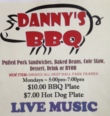 Danny's BBQ, Sapphire Valley Resort, High South Adventures