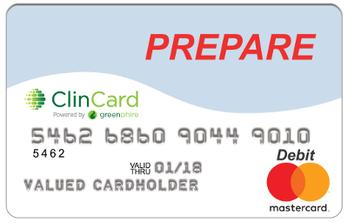 PREPARE money card