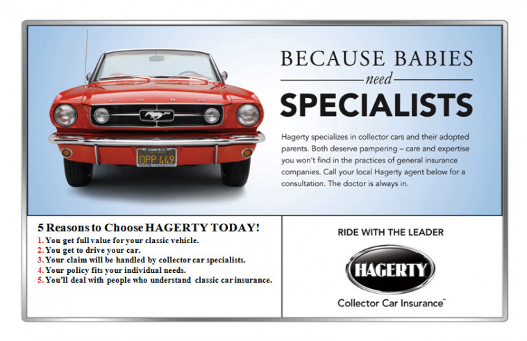 Hagerty Classic Car Insurance Usa