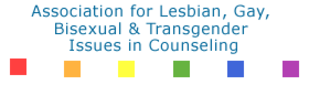 association for lesbian, gay, bisexual & transgender issues in counseling logo