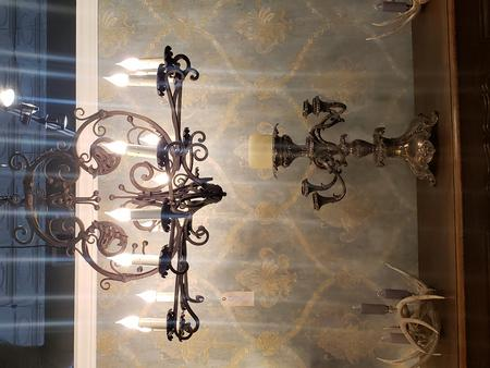 new iron ceiling fixture rustic rust and silver plated chandle holder french deer anlter sconces for chandles