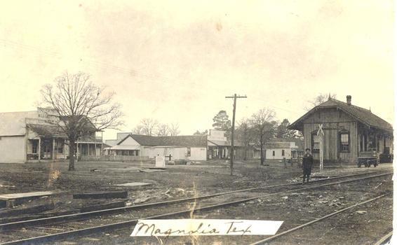 Downtown Magnolia 1917