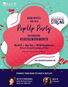 NASW Happy Hour Pop-Up Party