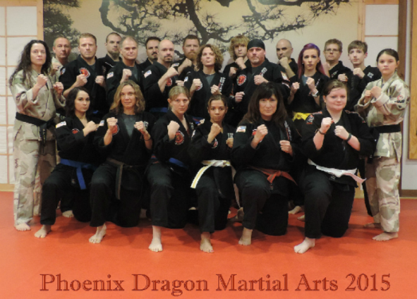 Phoenix Dragon Martial Arts Adult Students