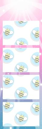Bumblebee Booths Photo Strip sample #23