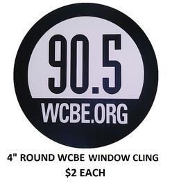 WCBE WINDOW CLING