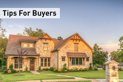 Top Tips for Home Buyers