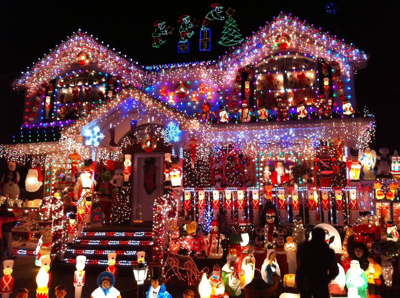 Christmas window lights decorations - Edward