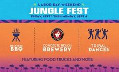 Miami Events; Jungle Fest; Park; Labor Day