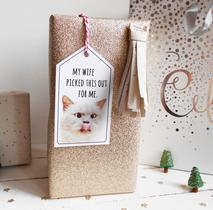 cat gift tag printable