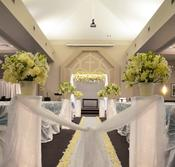 Wedding ceremony decor fresh flowers indoor ceremonies outdoor ceremonies aisle decor arches mandaps pedestals chuppah huppah lighting chair covers aisle runner