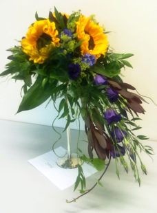 Sunflower arrangement | Flower Arrangements | The Little Flowershop