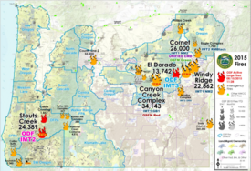 Oregon Fire Maps