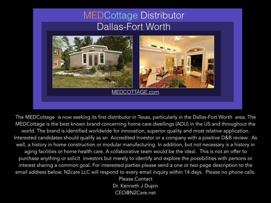 Medcottage Distributor Dallas Fort Worth