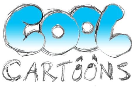 cool cartoon logo design